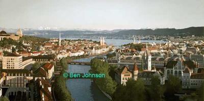 Zurich Panorama copyright Ben Johnson