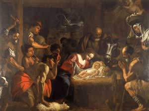 The Adoration of the Shepherds, by Mattia Preti