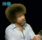 bob ross painting video
