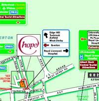 cornerstone map