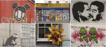 london street art pics
