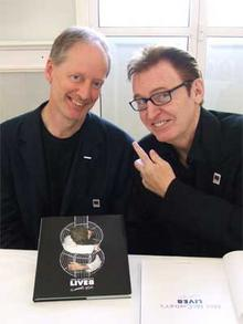 Mike McCartney with Ian Jackson