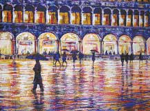 venice in the rain c. Dave Griffiths