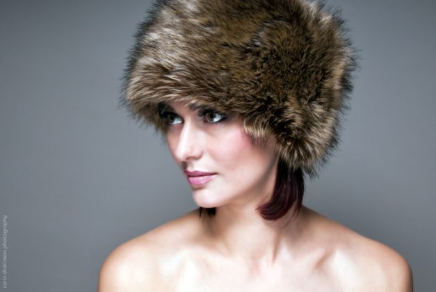 portrait_fur hat_fashion