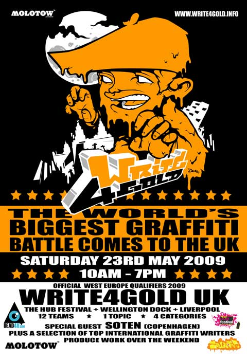 write-gold-poster