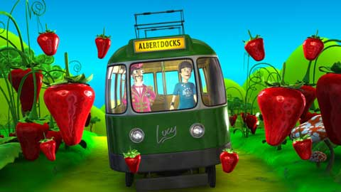 beatles-fab4d-animation-strawberry-fields
