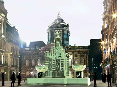 NOTE: it will be in Liverpool ONE by John Lewis not in front of the Town Hall