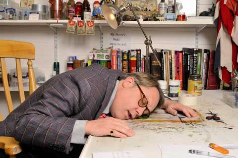 Vic Reeves.   Photo by Scott Wishart