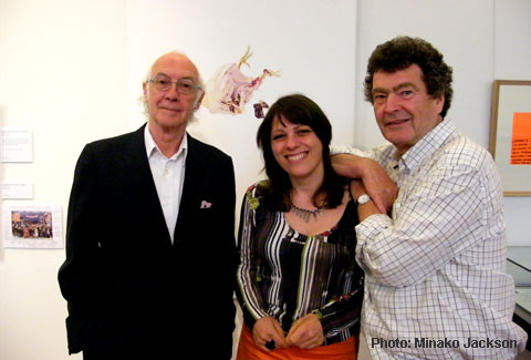Roger McGough, Catherine Marcangeli and Brian Patten