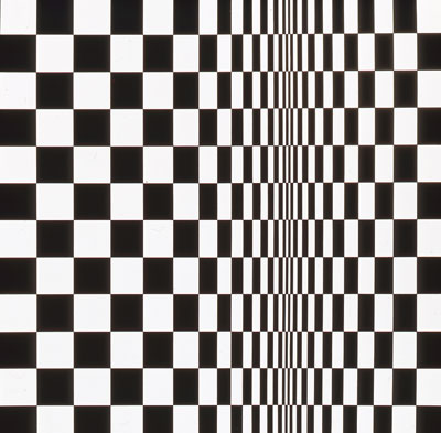 Movement in Squares, 1961 Arts Council Collection, Southbank Centre, London © 2009 Bridget Riley. All rights reserved