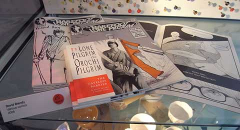 Comics by David Blandy