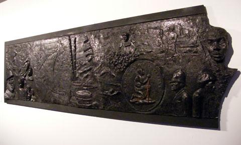 Slavery Memorial Plaque   c. Donna Berry
