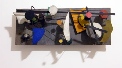 Jean Tinguely. 'Miracle Machine, Meta-Kandinsky I' 1956. Museum Tinguely, Basel