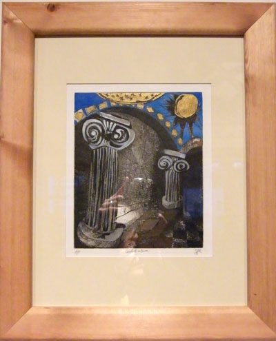 'Celestial Interior' by Jacqueline F Kerr