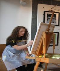 Madelaina 'The Naked Artist'