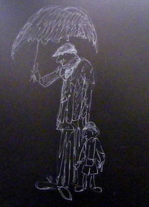 'Dockers Umbrella'.  Peter Grant