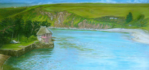 River Avon at Bantham  c. Robert Jackson
