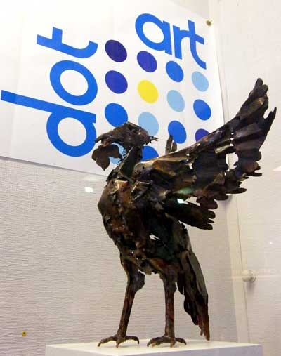 Tony Evans - Liver Bird. Photo: Minako Jackson