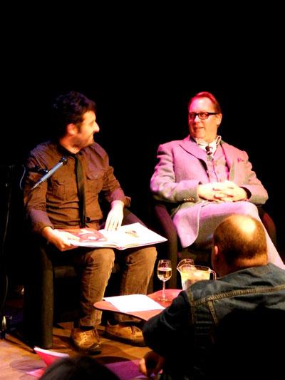 Tim Clare and Vic Reeves.   Photo: Minako Jackson