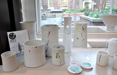 Ceramics by Karin Eriksson