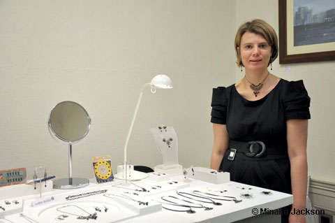 Judith Brown and her Jewellery