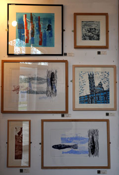 Screenprints by Gill Curry