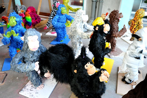 Many Mankey Monkeys