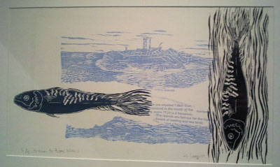 To Swim to Hilbre Island by Gill Curry