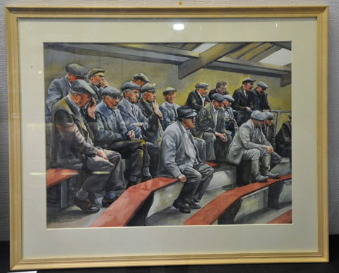 Old Men at an Auction by Michael Kirby