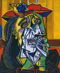 Weeping Woman (Femme en pleurs), 1937, Pablo Picasso 1881-1973, Tate © Succession Picasso/DACS 2002