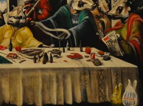 Last Consumer - Detail. Frank Maudsley
