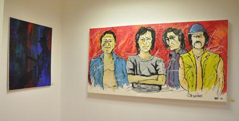 Paintings by Ken Bullock