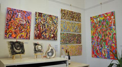 Paintings by Derek Culley