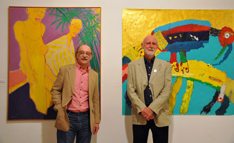 Grahame Ashcroft and Ken Bullock. Photo by Minako Jackson