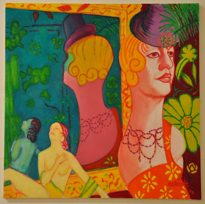 Barcelona (mirror, mirror) by Grahame Ashcroft