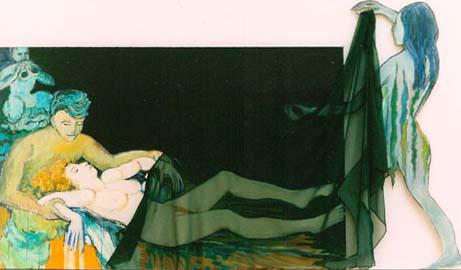 Birth of Venus, Frances Conway-Seymour