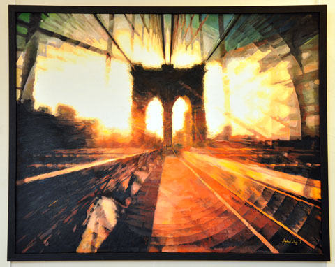 Brooklyn Bridge c. Stephen Collett