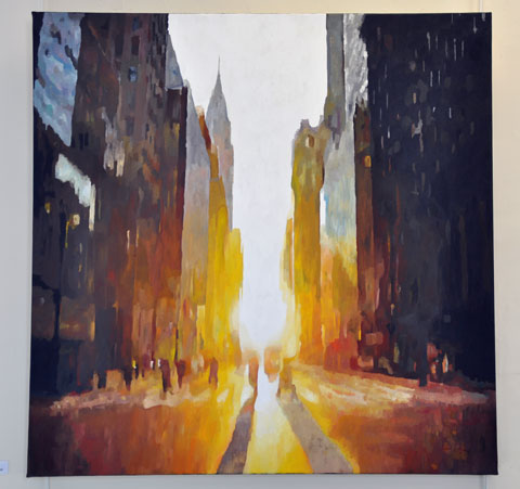 Sunrise from 5th Avenue c. Stephen Collett
