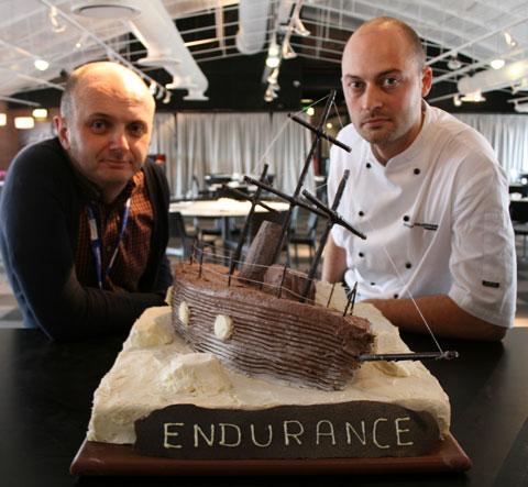 Shackleton-cake