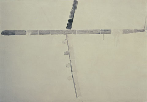 Winning painting 'Big Plane' by Han Feng