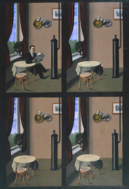 René Magritte Man with a Newspaper 1928 © ADAGP, Paris and DACS, London 2010
