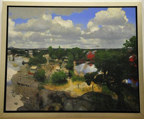 Martin Greenland 'The Flood'