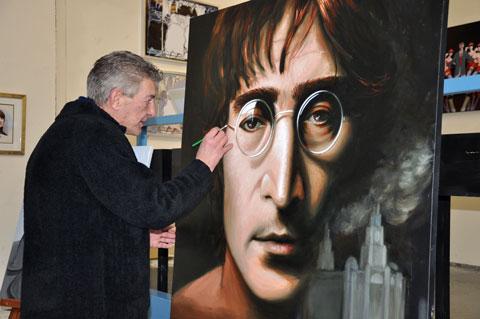 Len Ehlen and John Lennon