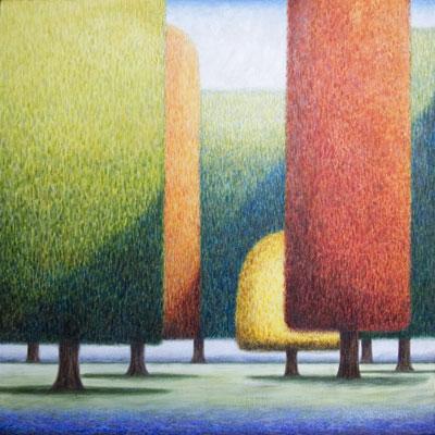 Forest of Colour - Martin Jones