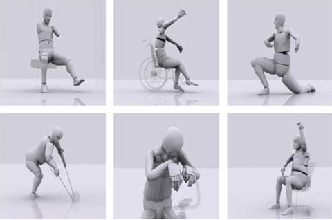 Motion Disabled - Simon McKeown