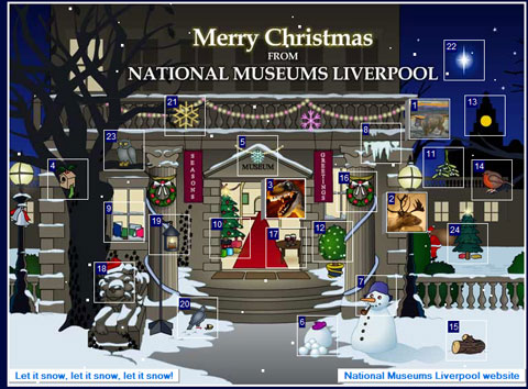 National Museums Liverpool Advent Calendar 2010
