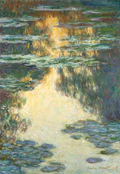 Claude Monet, Waterlillies, 1907, © Gothenburg Museum of Art, Sweden