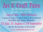 Art & Craft Fairs in Lark Lane – 24 Sept