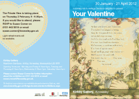 Kirkby Gallery Knowsley: Your Valentine