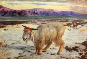 Hunt, William Holman 1827–1910, The Scapegoat 1854, Lady Lever Art Gallery